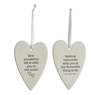 Ceramic Heart Decoration