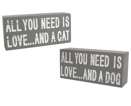 All You Need Is Love... Wooden Plaque