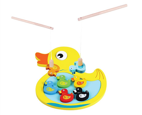 Wooden Magnetic Duck Game