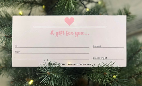 Hearts for Homes Gift Voucher