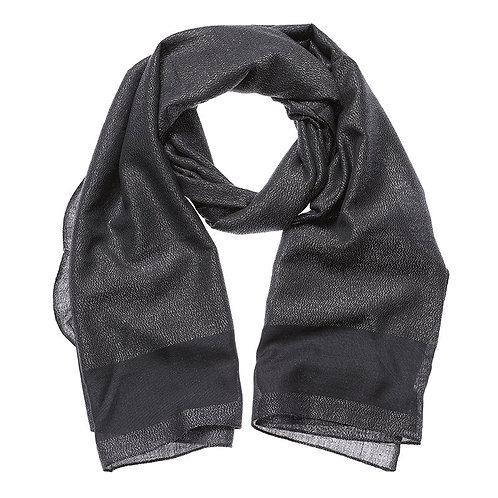 Shruti Charcoal Scarf