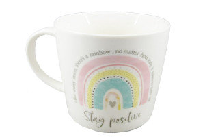 Stay Positive Rainbow Mug