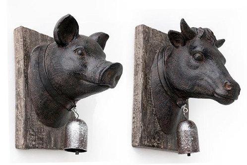Animal Bell Plaque