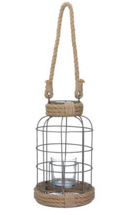 Wire & Rope Lantern
