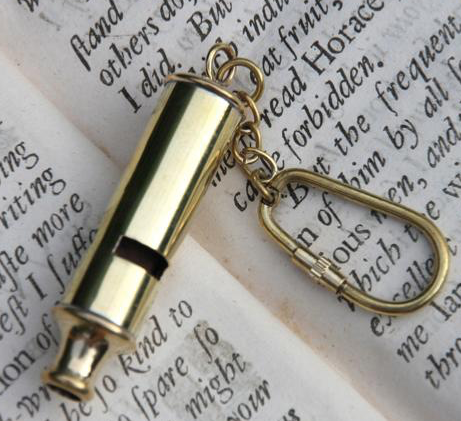 Whistle Key Chain