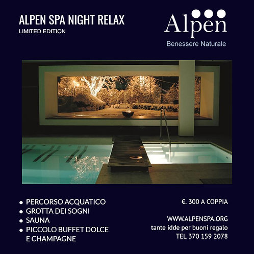 Alpen SPA Night Relax - Limited Edition