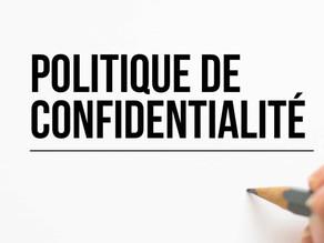 Politique de confidentialité et «cookie policy» civiliennes