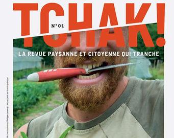 """Tchak !, """"revue paysanne et citoyenne qui tranche"""""""