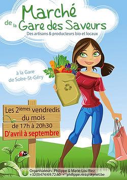 Marché de la Gare des Saveurs - Des artisans & producteurs bio et locaux