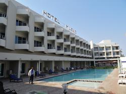 Hotel Milénio em Nampula - Vista Frontal da Extensão_640x480