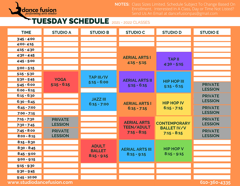 Tuesday Schedule DFPAS.png