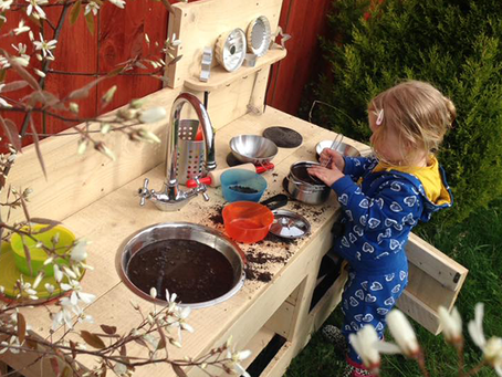 Mud Kitchen Learning Benefits