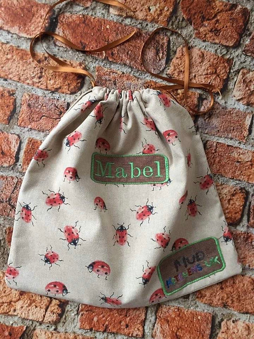 Personalised Mud Kitchen Accessory Bag