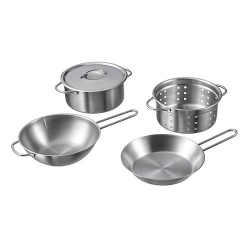 Mud Kitchen Ikea Accessory Pans set