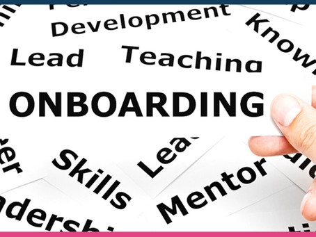 Onboarding - Do it Right and Save A lot of Costs!