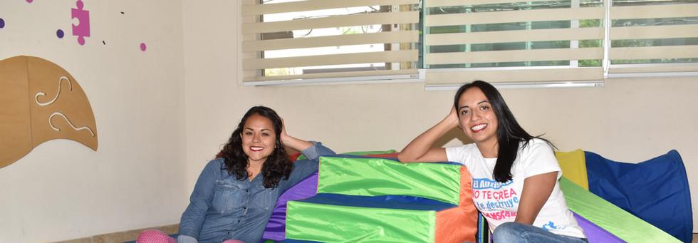 Karen and Seidy pose.JPG
