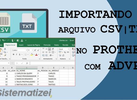 Construindo um Importador .CSV em ADVPL Protheus
