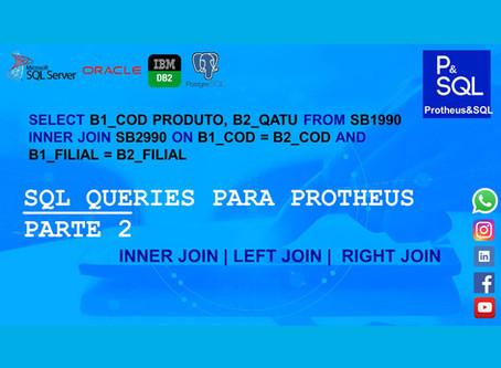 SQL queries para Protheus - PARTE 2