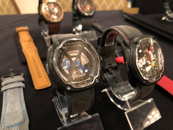Dietrich Watches at the LAmicroLUX Show