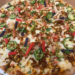 Street-Za The Arizona Chorizo Queso Pizza
