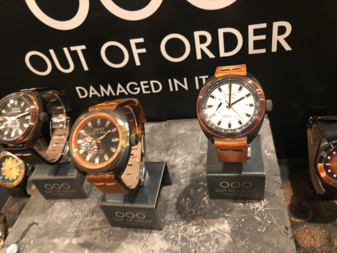 Out Of Order Watches at the LAmicroLUX Show