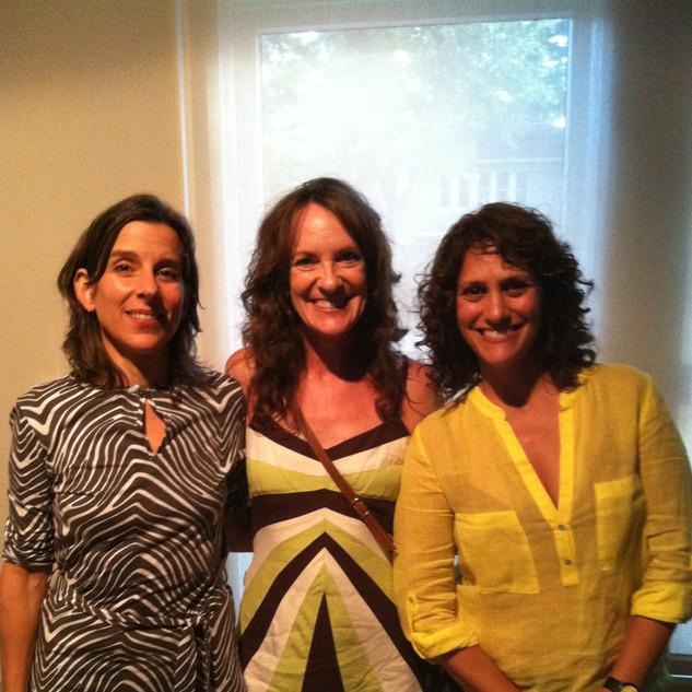 (Left) Nina Katchadourian - World renowned artist and sound sculptor. (Right) Regine Basha - International art curator