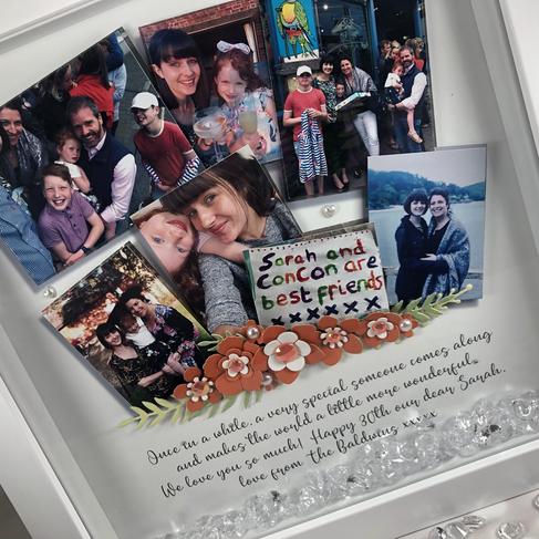 Bespoke photo frame