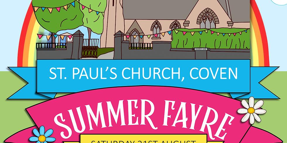 St. Paul's Church Summer Fayre