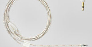 EAC46CLS 46-Inch Clear Earphone Cable