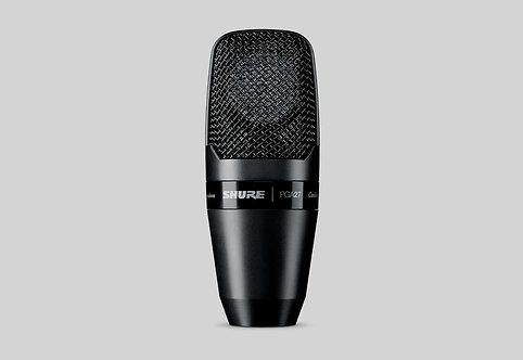 PGA27 Large Diaphragm Side-Address Cardioid Condenser Microphone