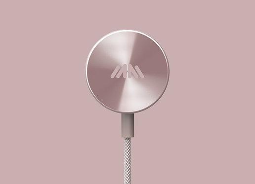 BUTTONS Premium wireless Bluetooth earphones Rose