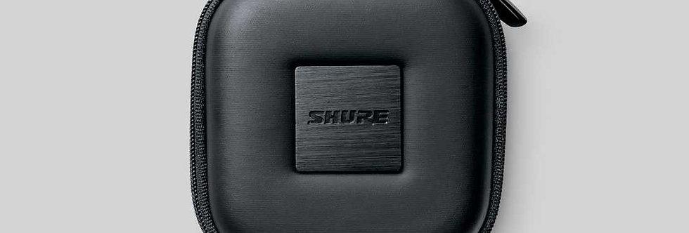 EASQRZIPCASE-BLK Square Zipper Earphn Pouch-Black