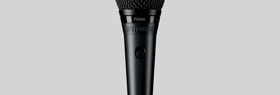 PGA58-LC Cardioid Dynamic Vocal Microphone