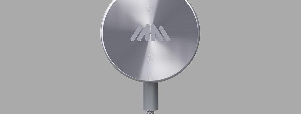 BUTTONS Premium wireless Bluetooth earphones Gray