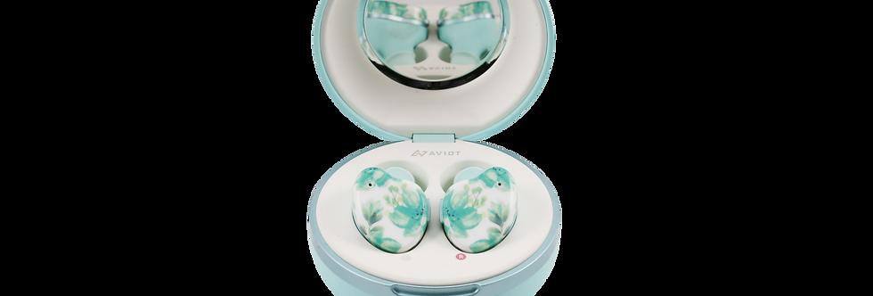 AVIOT TE-D01i True Wireless Earphones - MINT GREEN