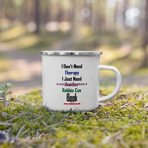 Therapy Enamel Mug
