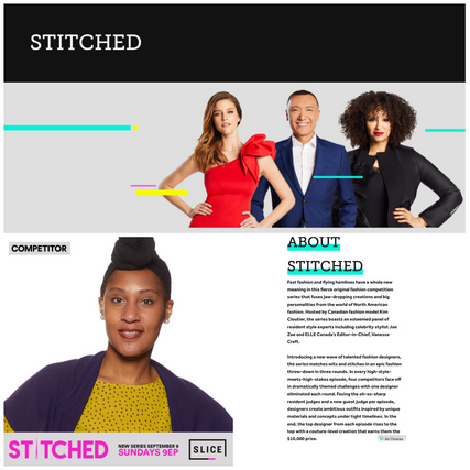 """Stitched"" Slice TV"