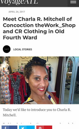 Meet Charla R. Mitchell of Concoction theWork_Shop