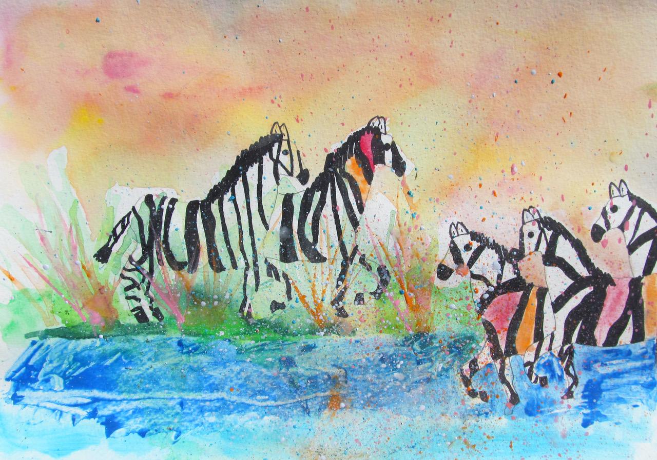 Zebras by Kember