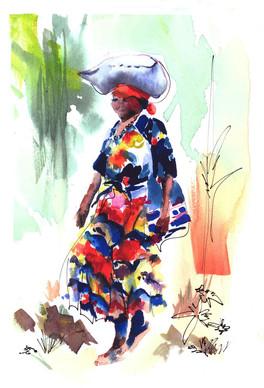 Woman of Rwanda #2