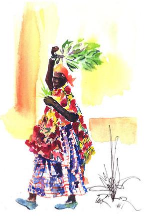 Woman of Rwanda #1