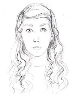 Amy's self portrait