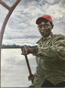 Boating on the Kilombero River