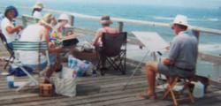 Pier Painting on Atlantic Beach