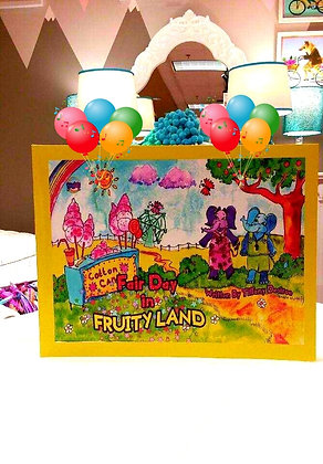 Lolliwolliworld Publishing Presents; Fair Day in Fruity Land