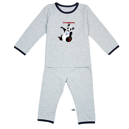 Giggli Panda Baby Pajamas