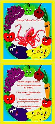 Fruity Land Kidz™ Fun Facts Flip Cards