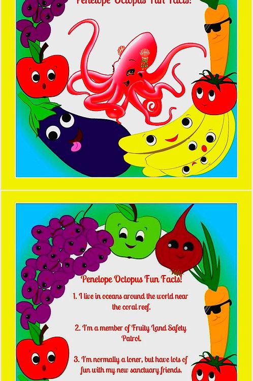 Fruityland Kidz™ Fun Facts Flip Cards