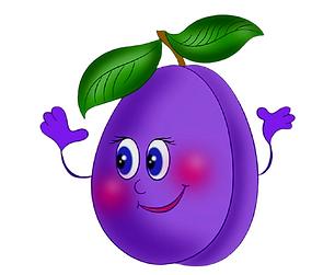 Cute plum