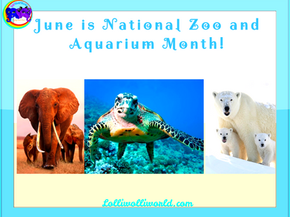 June is National Zoo and Aquarium Month!